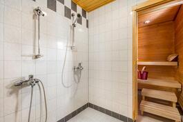Alakerran kph ja sauna