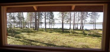 Rantasaunan ikkunanäkymät