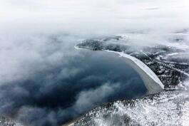 Alajärven rantaviivaa