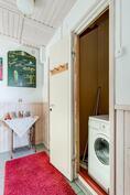 Pesukoneen koti.