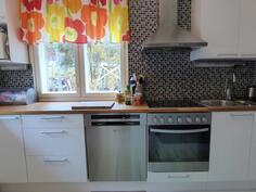 Keittiön koneet on uusittu 2015