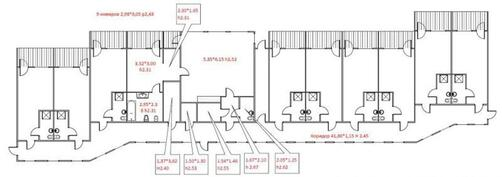 Pohjakuva majoitusrakennus 1