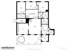 Asunnossa on toimiva pohjaratkaisu ja terassilta löytyy kaasulämmitteinen kylpytynnyri.
