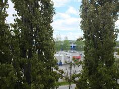 Iso puut antavat mukavan suojan ja varjon parvekkeella istujalle