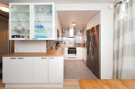 keittiössä on lattialämmitys