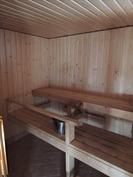oma sauna kellarikerroksessa
