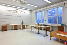 B-rakennuksen toinen luokkahuone