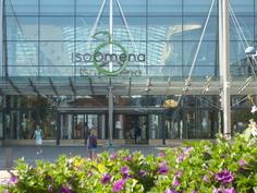 Isossa Omenassa runsaat 220 kauppaa, yli 50 ravintolaa sekä metroasema