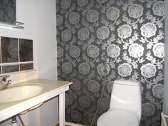 pienemmän asunnon wc