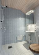 II-krs. kylpyhuone/wc