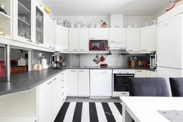 Siisti ja nykyaikainen keittiö