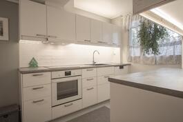 uusi moderni keittiö