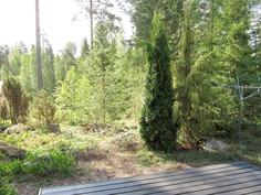 ...terassilta metsäiset näkymät