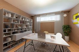 virtuaalistailattu työhuone