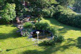 Oma vehreä puutarha