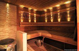 Sauna jossa aina valmis kiuas