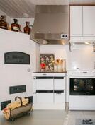 leivinuuni, puuhella, liesi, keittiö