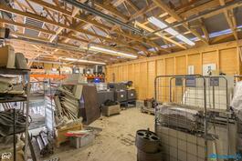 Kylmä varastotila n. 90 m2