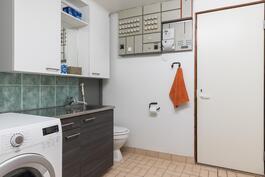 Apukeittiössä kodin toinen wc
