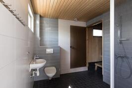 Kylpyhuone piharakennus