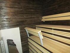 Saunaa (kiuas asentamatta)