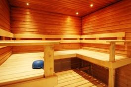 taloyhtiön viihtyisä sauna