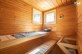 Sauna on helppo tuulettaa