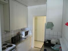 huoneistossa on normaalin asunno varusteet ja tilat