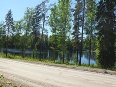 Tontti sijaitsee Ruokosjärven välittömässä läheisyydessä
