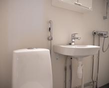 Kylpyhuoneen uudet kalusteet