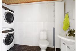 Alakerrassa kodinhoitohuone - wc