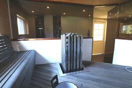 Ulkorakennuksen saunaosasto