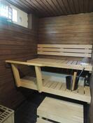 Kaunis siisti sauna