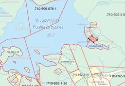 Alueen kartta / Karta över området