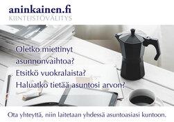 Ota yhteyttä Aninkainen.fi/Raisio, kiinteistövälitys. Merja Hakala puh. 040 840 6627