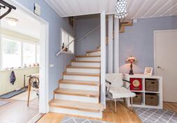 Portaat yläkertaan-Trappor till övrevåning