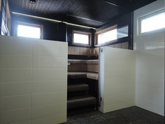 kylpyhuone ja saunatila