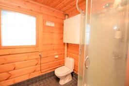 Ikkunallinen wc/suihkutila