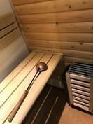 oma sauna huoneistossa