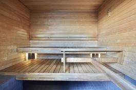 Sauna yleisissätiloissa