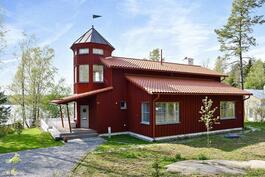 Talo rakennettu 2013/ Huset färdigställt år 2013.