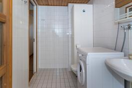 Peruskuntoinen kylpyhuone