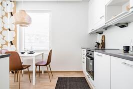 Esittelyasunto C57, 3h, k, 60 m², keittiö