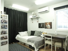 Piharakennuksen huone
