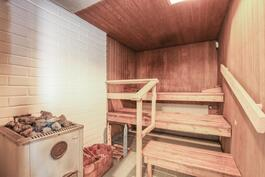 Huoneistokohtainen sauna