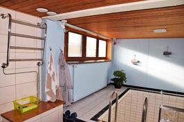 Pesuhuonetilat / uima-allas