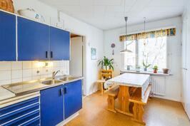 A-asunnon keittiö