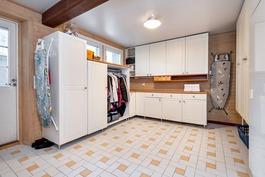 Tilava kodinhoitohuone helpottaa arkea. Uloskäynti