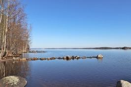 venevalkamasta järvelle