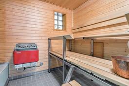 Sauna remontoitu v. 2002